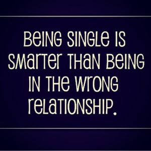 BEING SINGLE - BEING HAPPY?