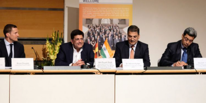Piyush Goyal Challenges Germany as he gears up to make Varanasi 100% clean energy city before Munich achieves it in 2025.