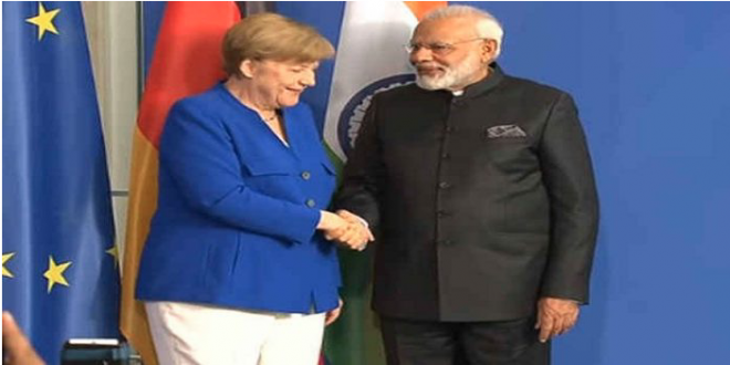 Exposing the false News of Angela Merkel avoiding PM Modi's hand shake shown by Media? Click here to know the truth!