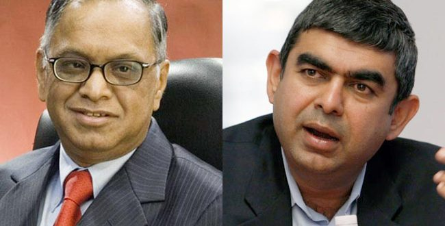 The VISHAL War of Infosys