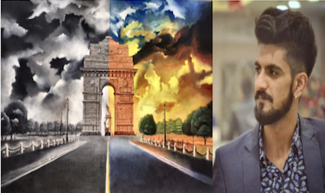 Young India! Meet Aman Anand - a young artist, now ruling the creative world