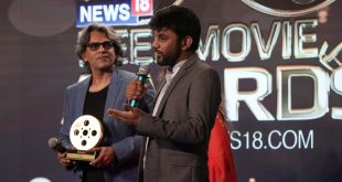 Father-son duo bags two awards at News18.com REEL Movie Awards for Mukti Bhawan