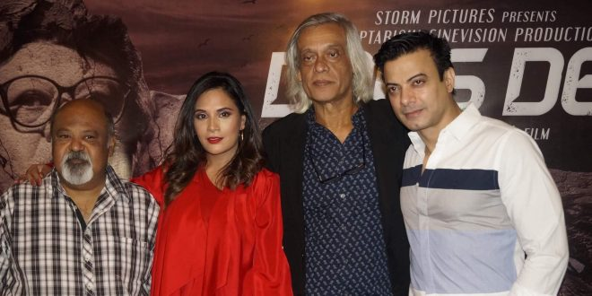 Richa Chadha, Saurabh Shukla along with the team of 'Daas Dev' witnessed in New Delhi