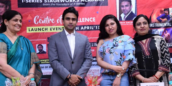 T-Series StageWorks Academy launched 'Centre of Excellence' at Galgotias University