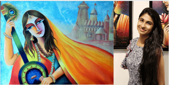 Meet Namrata Khatri - a born artist, reviving the glory of Meerabai