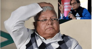 Shashi tharoor assaults Lalu prasad yadav with a thunderstorm of farrago – Faltu News