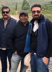 """Local fans makes a beeline to train with their favourite actor Rahul Dev in Bishkek for """"Torbaaz"""""""
