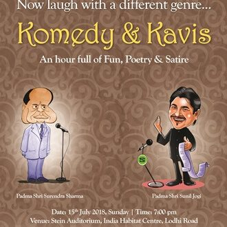 Komedy & Kavis: an hour full of fun, laughter, poetry & satire!