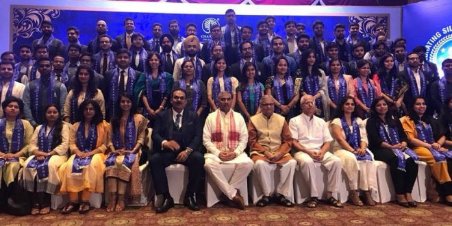 Shiv Prakash, among other top RSS brass felicitated Civil Servants in event by Chanakya IAS Academy and Samarth Bharat