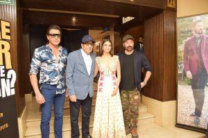 Yamla Pagla Deewana Phir Se in Delhi for the launch of the latest song 'Rafta Rafta'