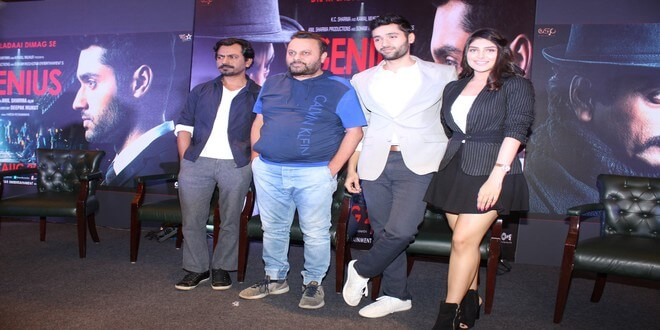 Nawazuddin Siddiqui along with the star cast of 'Genius' witnessed for promotions