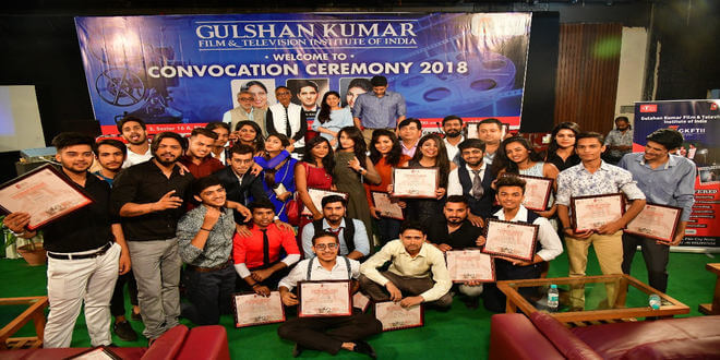 Gulshan Kumar Film & Television Institute of India had its 'First Convocation Ceremony' at their campus, located at Film City, Noida!