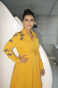 Helicopter Eela promotions by Kajol in New Delhi