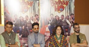 Badhaai Ho cast in Nation' Capital for the promotions!