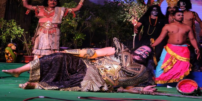 Finally, Kumbhkaran defeated by Lord Ram in the intense plot ofLuvKush Ramlila!
