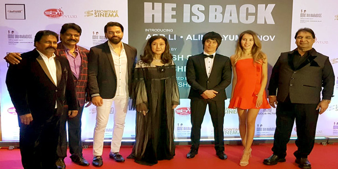 "Grand Mahurat of Hollywood Film ""HE IS BACK"" in Dubai."