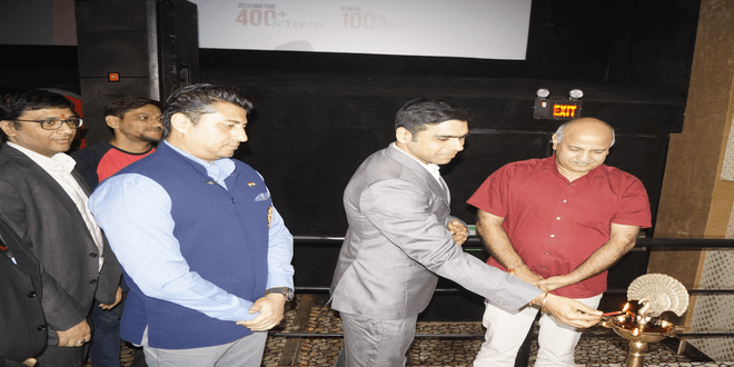 Central Delhi's most exemplary Odeon Carnival Cinemas reopens with grand new look to provide an enhanced viewing experience
