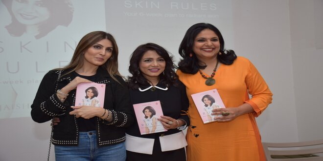 Riddhima Kapoor Sahni launches 'Skin Rules' by Dr.Jaishree Sharad