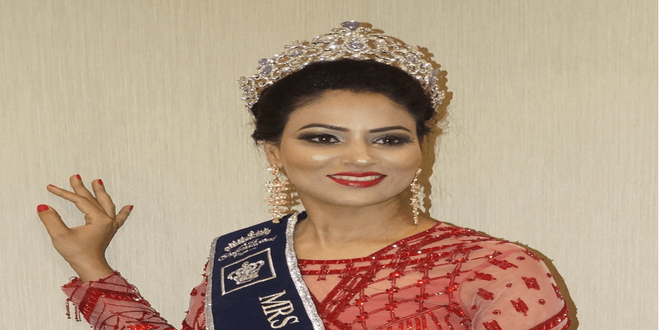 Anupama Soni made Nation proud by grabbing Mrs. Asia International 2018!