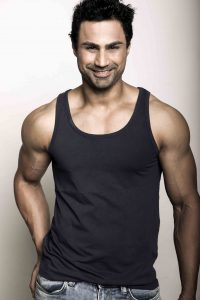 """I consider Sylvester Stallone as my role model,"" says fitness model Karan Oberoi (KO)"