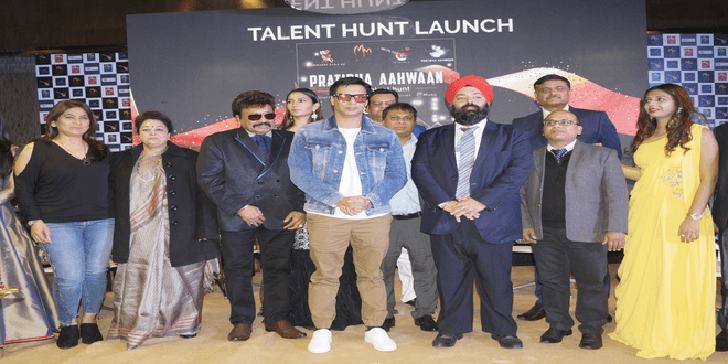 Director Madhur Bhandarkar, Archana Puran Singh in Delhi for special Talent Hunt Launch!