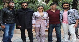 Star Cast of Total Dhamaal witnessed promoting the movie in National Captial