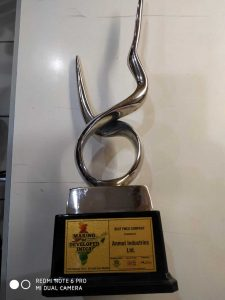 Making of Develop India Award received by Anmol Industries.