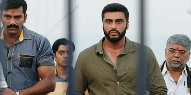Arjun Kapoor and Director Raj Kumar Gupta witnessed promoting their upcoming movie India's Most Wanted in Delhi
