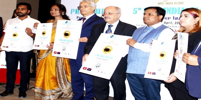 Poster Launch of 5th Mrs. India Globe and 6th Miss and Miss India Globe 2019