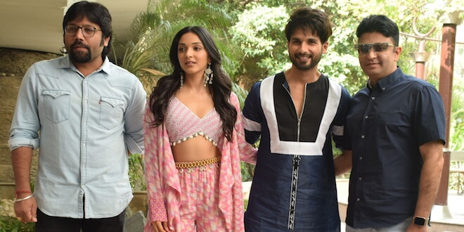 Watch: Shahid Kapoor and Kiara Advani during promotions of their upcoming movie Kabir Singh