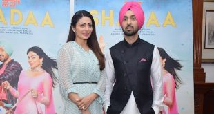 Diljit Dosanjh and Neeru Bajwa witnessed promoting their upcoming Movie Shadaa in National Capital