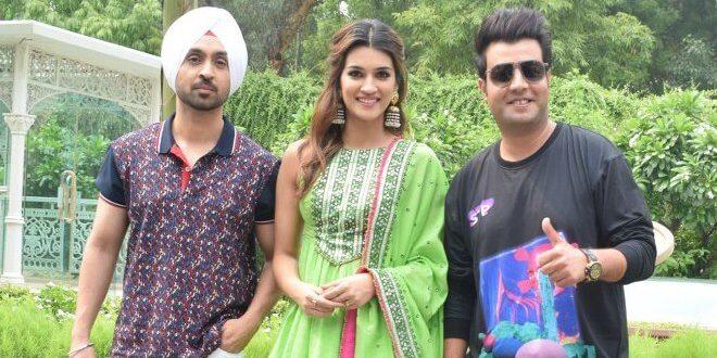 Diljit Dosanjh, Kriti Sanon, and Varun Sharma starrer Arjun Patiala, releasing this Friday