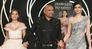 Diana Penty steals the show as she walks the ramp for Gaurav Gupta at FDCI India Couture week