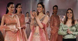 Indian Couture Week 2019: Rakulpreet Singh turns a modern bride as she walks the ramp for Reynu Tandon
