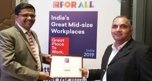 Adani Enterprises-Mining once again recognized amongst Top 50 Great Mid-size Workplaces in India by Great Place to Work® Institute