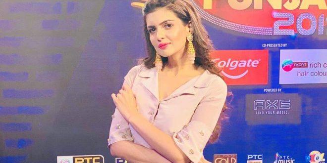 Ihana Dhillon promotes Mr. Punjab 2019 in Delhi