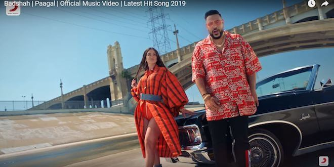 Badshah creates history, with his recently released track 'Paagal'