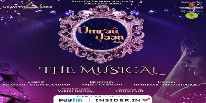 Witness the tale of a courtesan, Umrao Jaan Ada, live on stage from August 3rd at JLN Auditorium, Delhi
