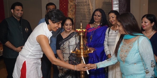 Sixth generation textile conservationist from Hyderabad, Sailesh Singhania brought to Delhi, a treasure trove of heritage handlooms, textiles and antique sarees