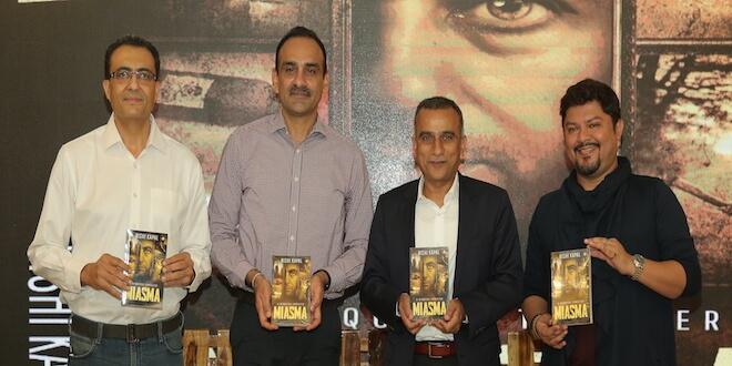 Rishi Kapal launches his latest fictional novel – Miasma