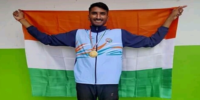Ashok Gurjar Wins gold medal for India in Indo Nepal Championship 2019