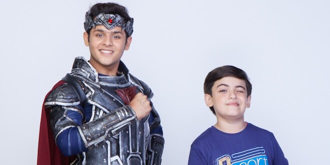 Baalveer and Vivaan fight the evil together on Sony SAB's Baalveer Returns