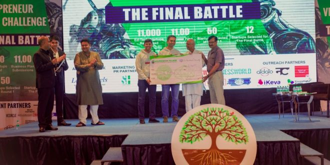 Edupreneur Village Fund hosts the Edupreneur Village Challenge Finale: The Final Battle, successfully in Delhi, with 50+ Investors and 350+ Attendees