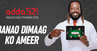Adda52.com launches new brand campaign with Chris Gayle
