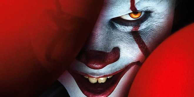 """""""When Andy said, 'Action!' Pennywise was right there, he just exploded out of me- even more disturbing, without the makeup"""": Bill Skarsgård"""