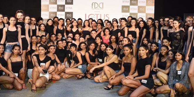 38 girls shortlisted from an overwhelming turnout at the FDCI female model auditions in Kolkata, Mumbai and New Delhi for LMIFW SS'20, with inclusivity becoming the mantra