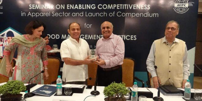 AEPC Seminar on Enabling Competitiveness in Apparel Sector & Launch of Compendium for Good Management Practices was attended by Sonal Jindal & Chetan Mathur, Managing Partners - Medusa Source