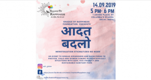 """Shades of Happiness Foundation organised """"Aadat Badlo"""", an event to bust myths about menstruation"""