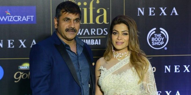 Mumbai power couple Sachin and Sangeeta Ahir grace the green carpet at 2019 IIFA Awards
