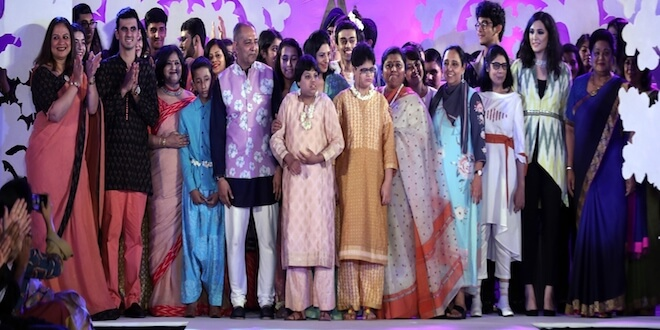 "Inclusivity is the new Exclusivity, Tamana along with the Fashion Design Council of India (FDCI) organised its annual fashion show, titled ""My India. My Pride"""